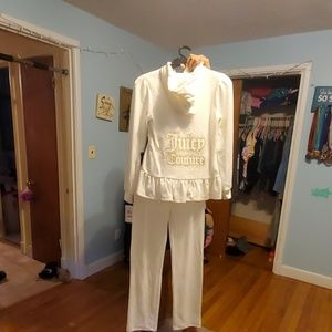 2 piece Juicy Couture sweatsuit